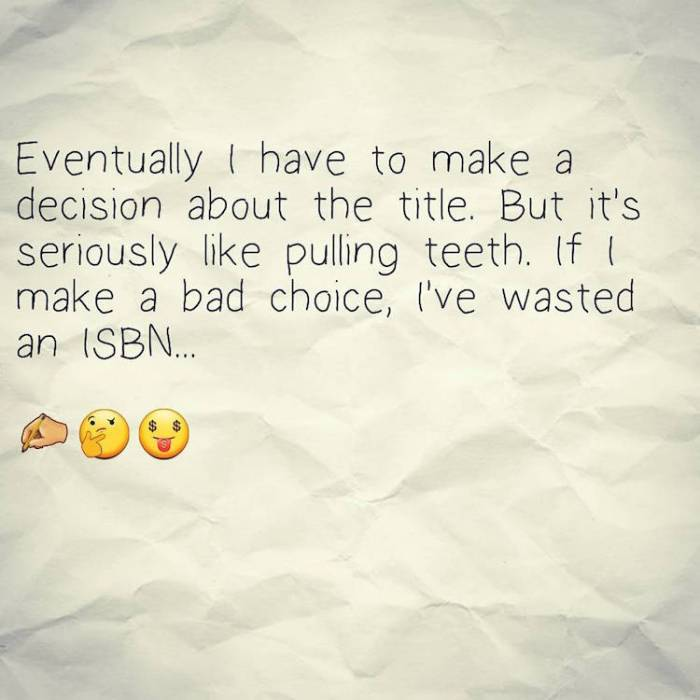 titles and ISBNs pull quote image