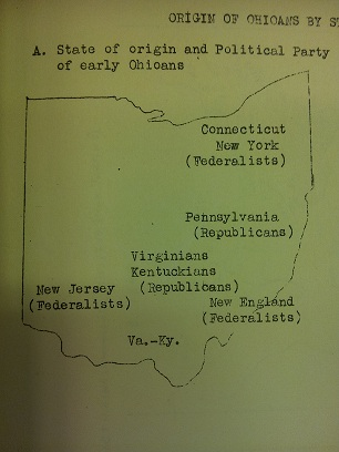 Ohioan Origins by State